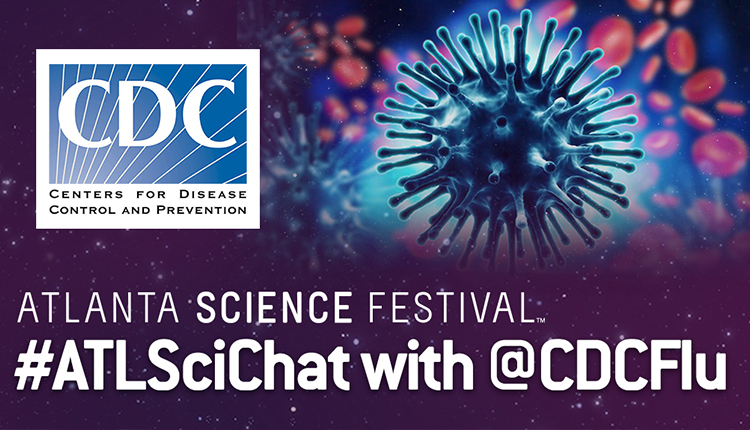 #ATLSciChat with @CDCFlu