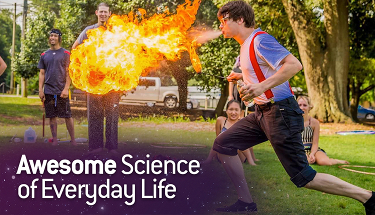 Awesome Science of Everyday Life: Fire Blowing