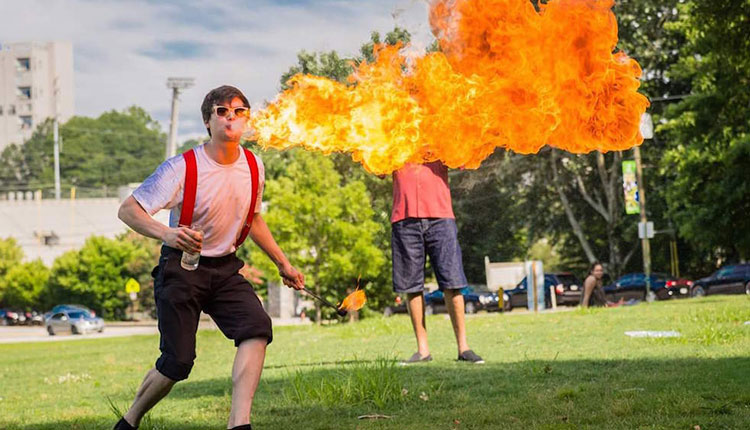 Science Fire Show