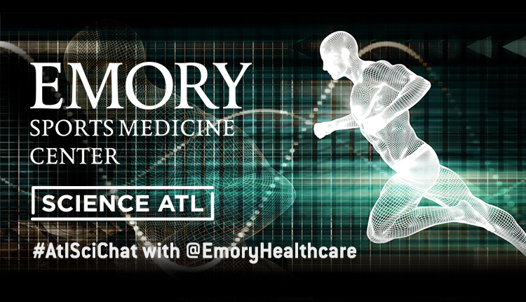 #ATLSciChat with @EmoryHealthcare