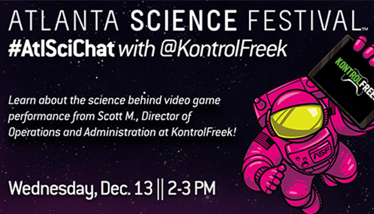 #ATLSciCnat with @Kontrol Freek