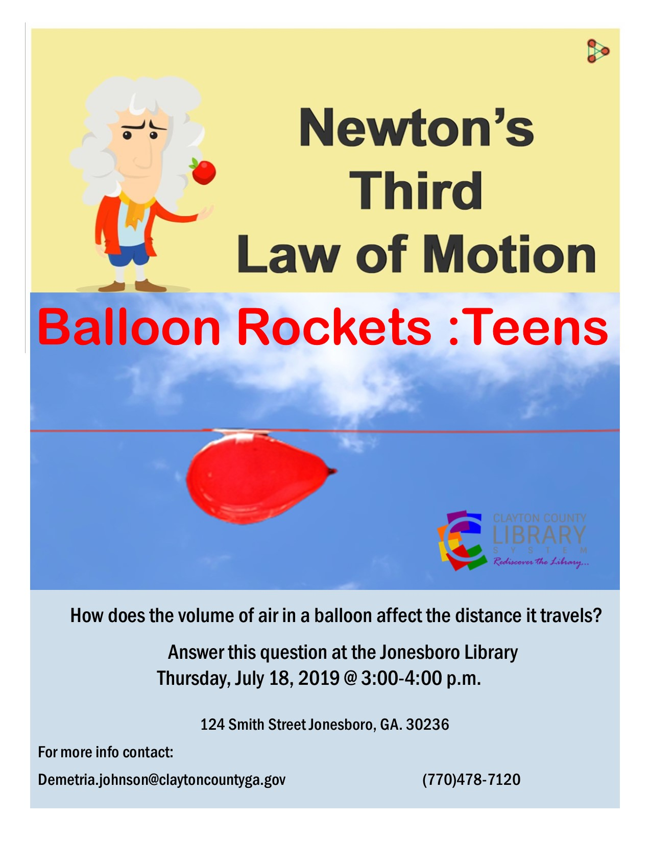 Newton's Third Law of Motion - Science ATL
