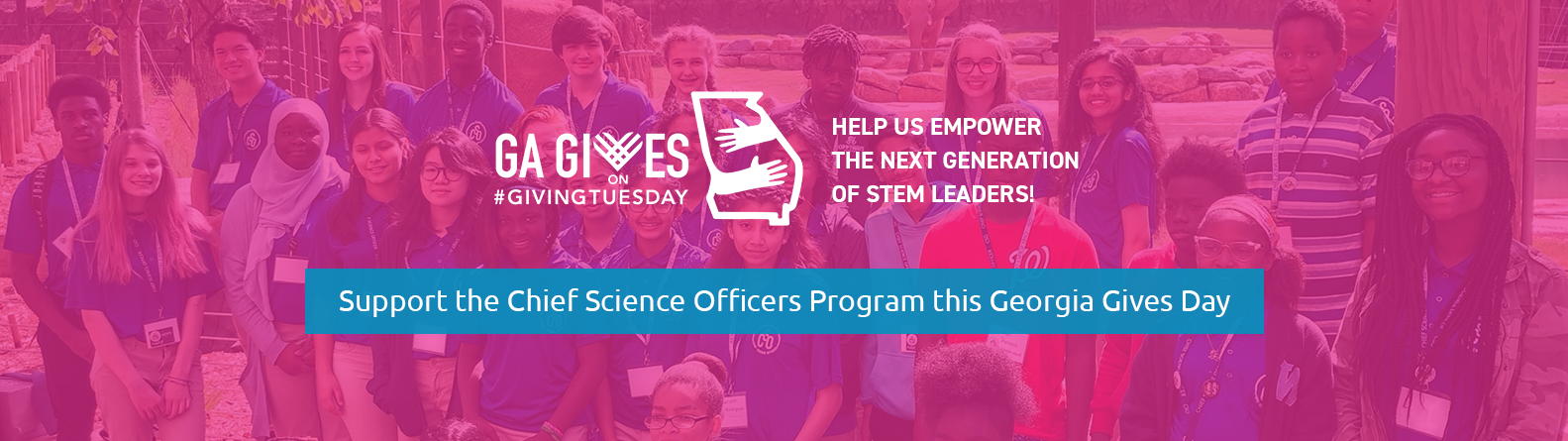 Support the Chief Science Officers Program this Georgia GIves Day.