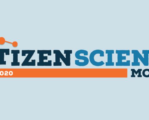April is Citizen Science Month Graphic.