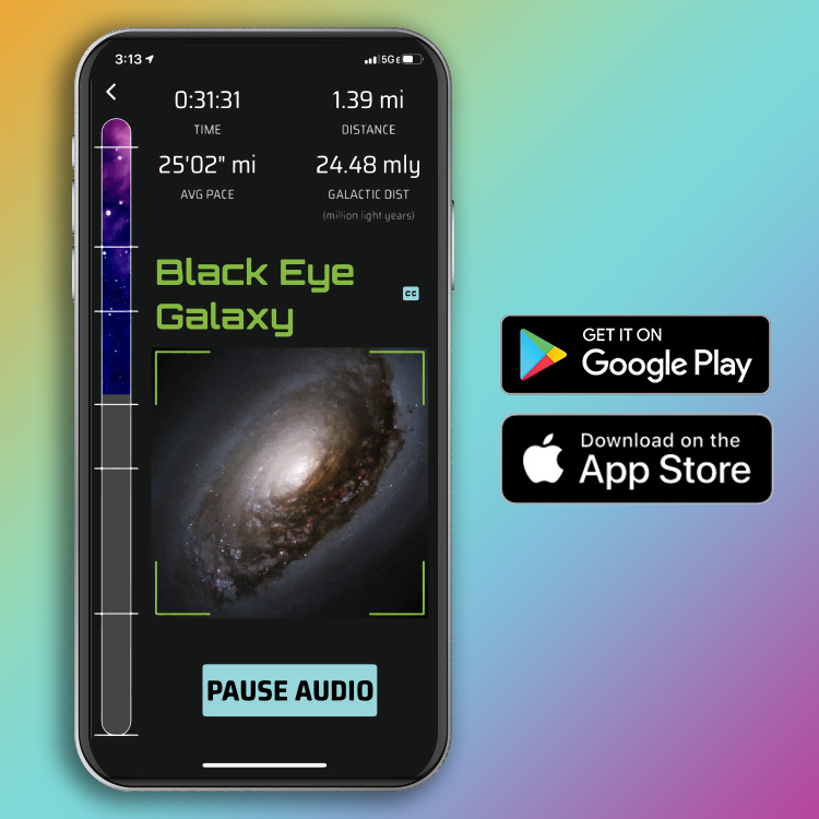 Race Through Space App