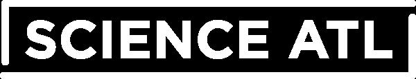 Science ATL logo in white