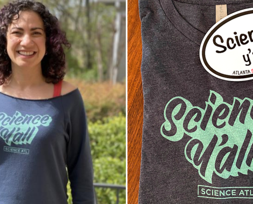 Science Y'all t-shirt collage